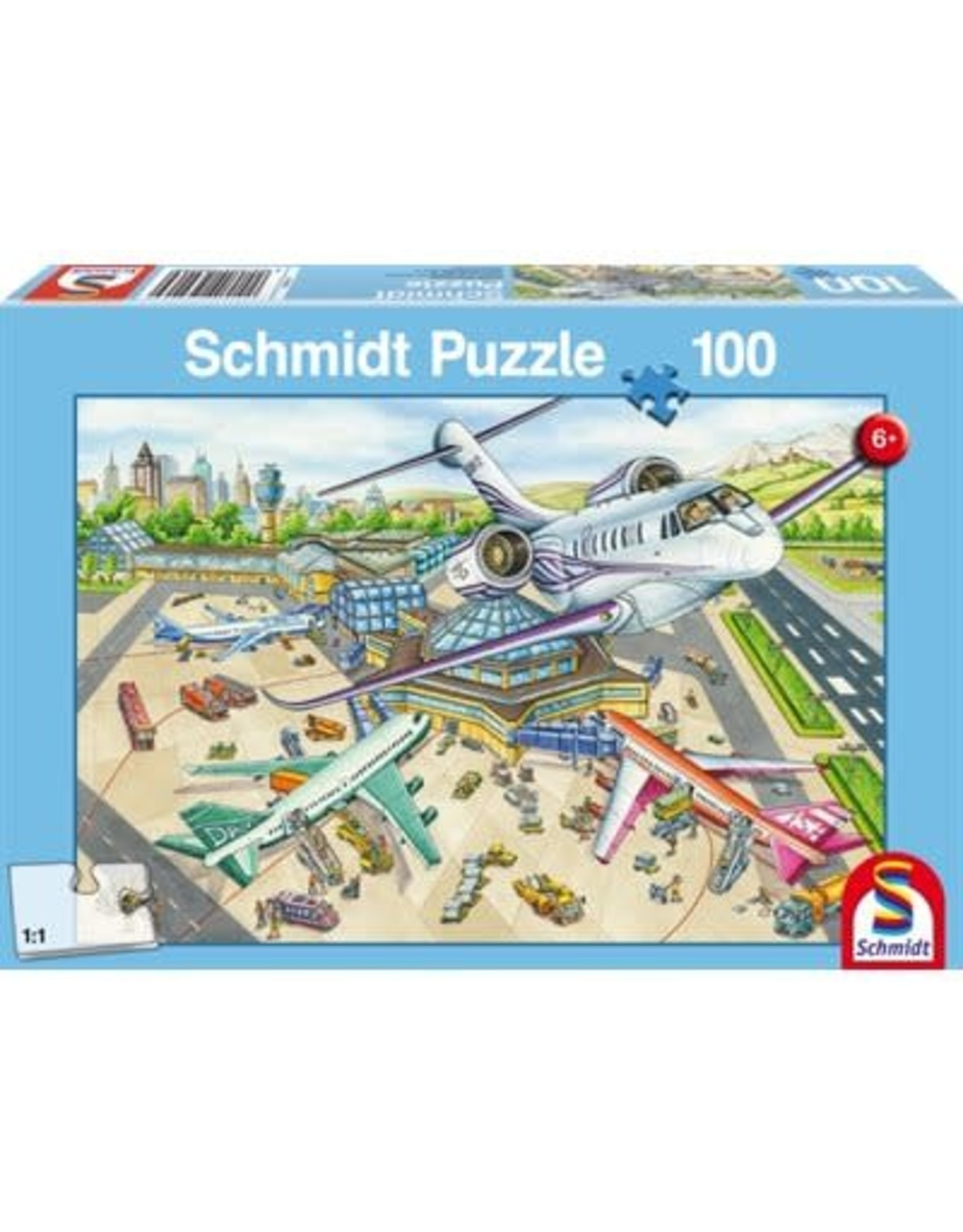 Schmidt Puzzle: Child 100 A Day at the Airport