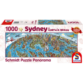 Schmidt Puzzle: 1000 Sydney (by Hartwig Braun)