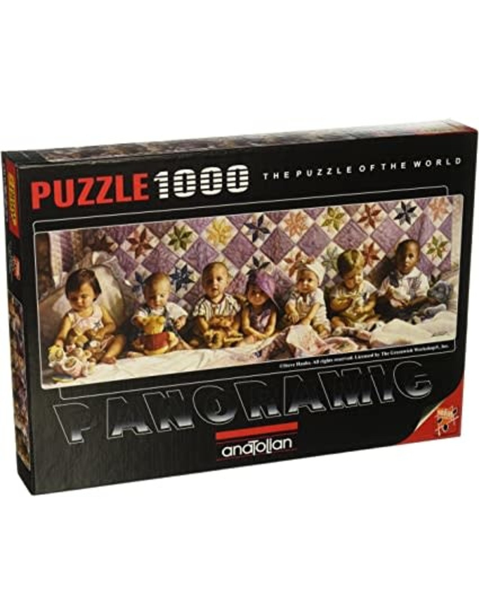 Anatolian Puzzle: 1000 All in a Row
