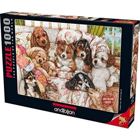 Puzzle: 1000 Puppies