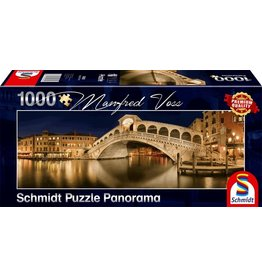 Schmidt Puzzle: 1000 Rialto Bridge