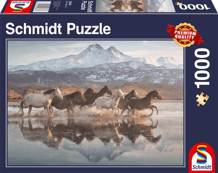 Schmidt Puzzle: 1000 Horses in Cappadocia