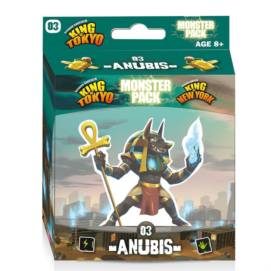 Iello KING OF TOKYO - MONSTER PACK: ANUBIS (EXT) (FR)