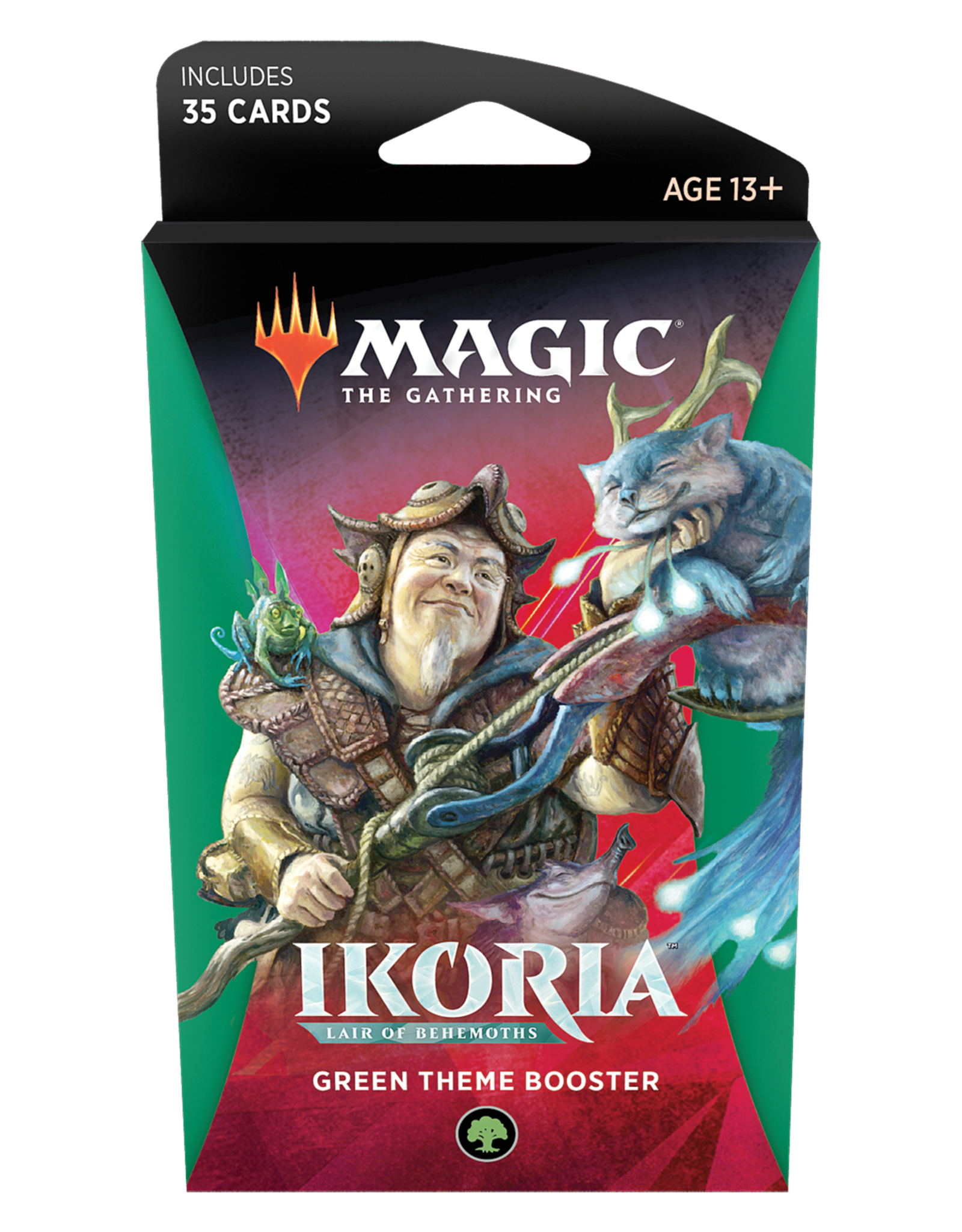 Wizards of the Coast MTG Ikoria - Lair of Behemoths Theme Booster: Green