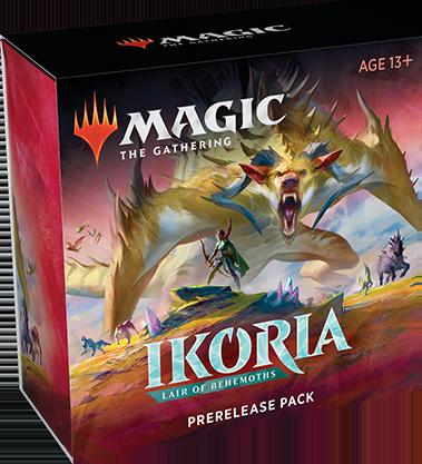 Wizards of the Coast MTG Ikoria - Lair of Behemoths Prerelease Kit