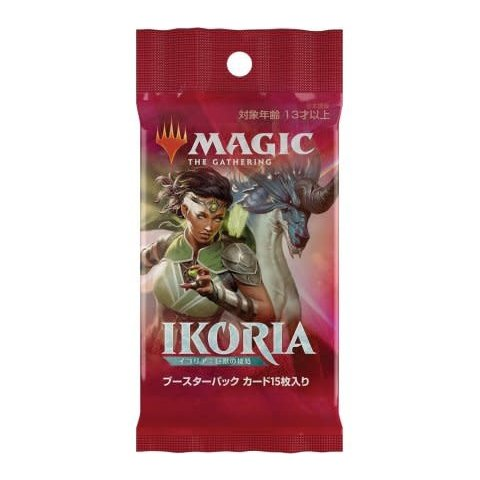 MTG JAPANESE IKORIA LAIR OF BEHEMOTHS BOOSTER PACK