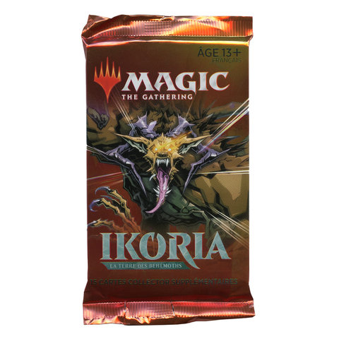MTG Ikoria - Lair of Behemoths Collector Pack (FR)