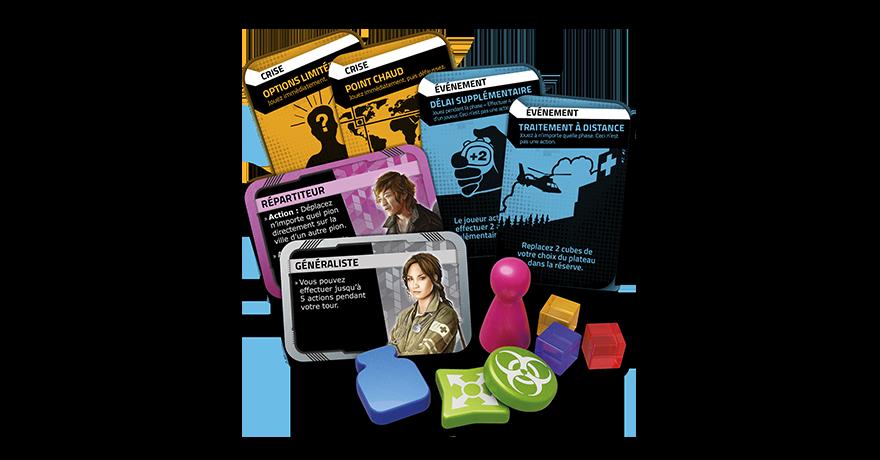 Z-MAN GAMES Pandemic Zone Rouge - Amérique du Nord