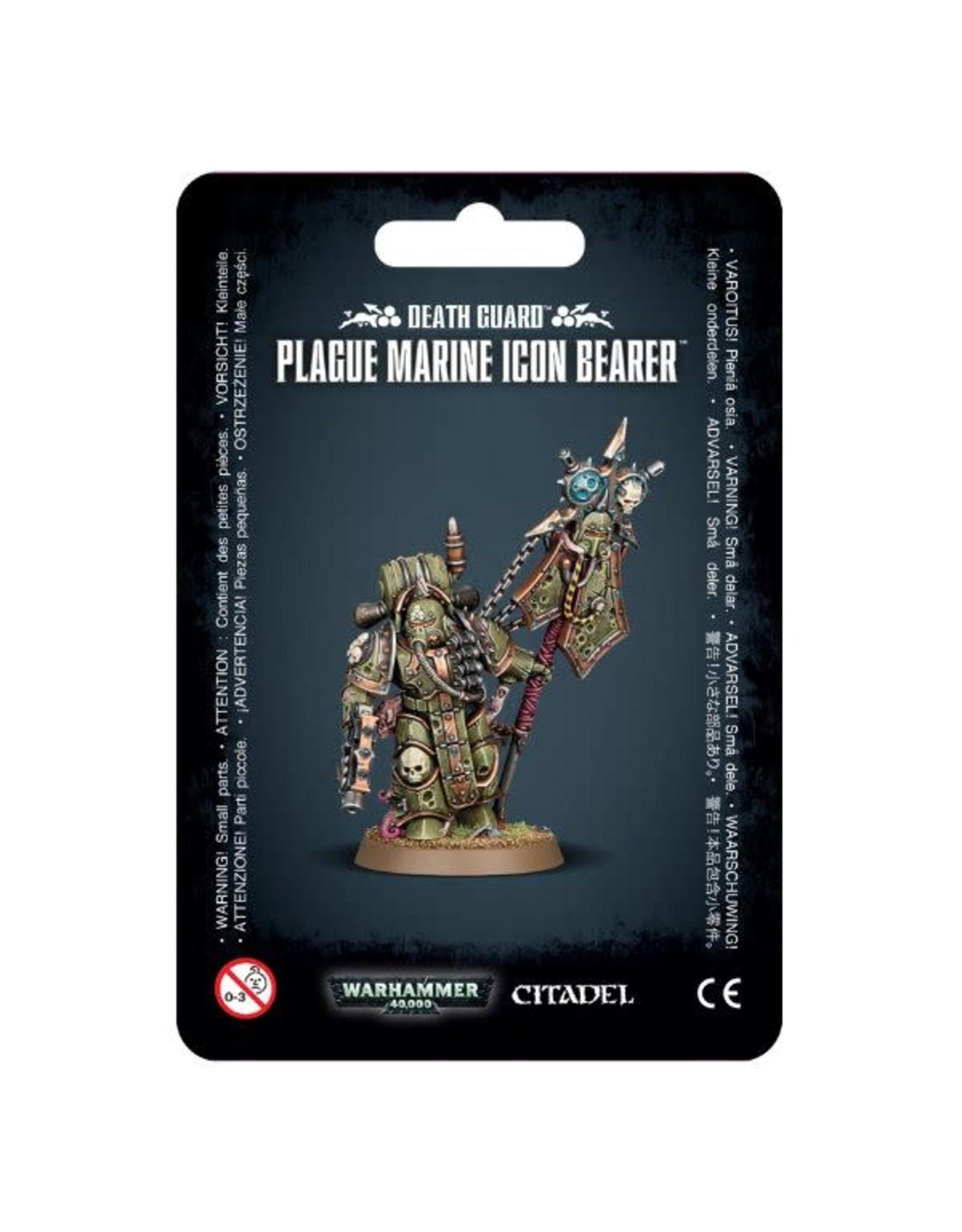Warhammer 40k Death Guard Plague Marine Icon Bearer
