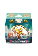 Iello KING OF TOKYO/NY- MONSTER PACK: CYBERTOOTH (EXT) (FR)