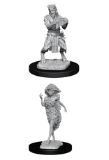 WIZKIDS DND UNPAINTED MINIS SATYR AND DRYAD