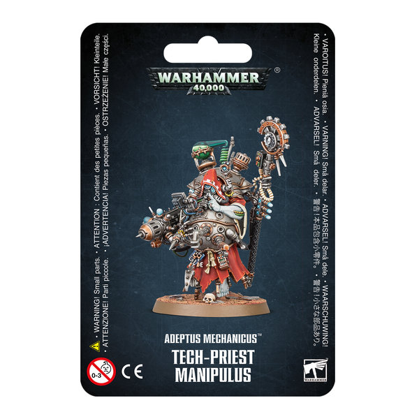 Warhammer 40k ADEPTUS MECHANICUS TECH-PRIEST MANIPULUS
