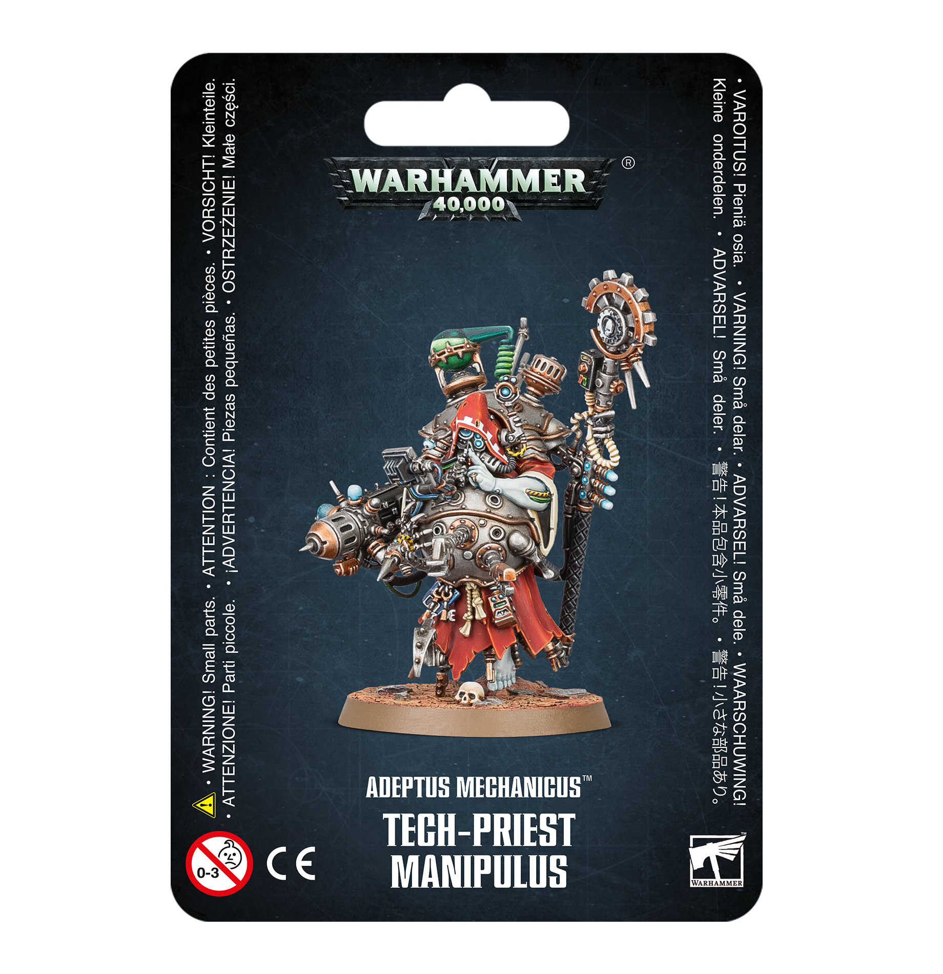 Warhammer 40k ADEPTUS MECHANICUS TECH-PRIEST MANIPULUS