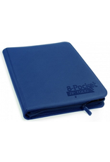Ultimate Guard UG QUADROW ZIPFOLIO XENOSKIN 8PKT DARK BLUE