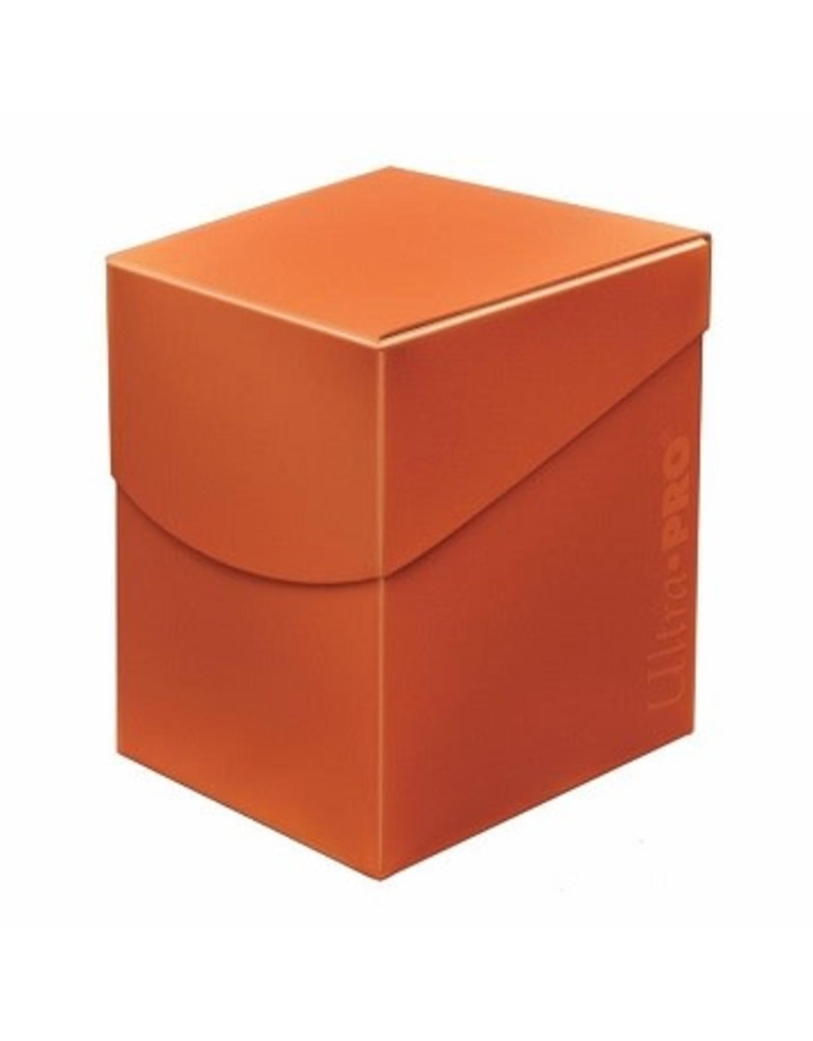 Ultra Pro UP D-BOX ECLIPSE PUMPKIN ORANGE 100+