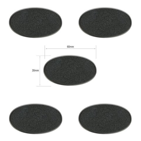 Citadel 60x35mm Oval Bases
