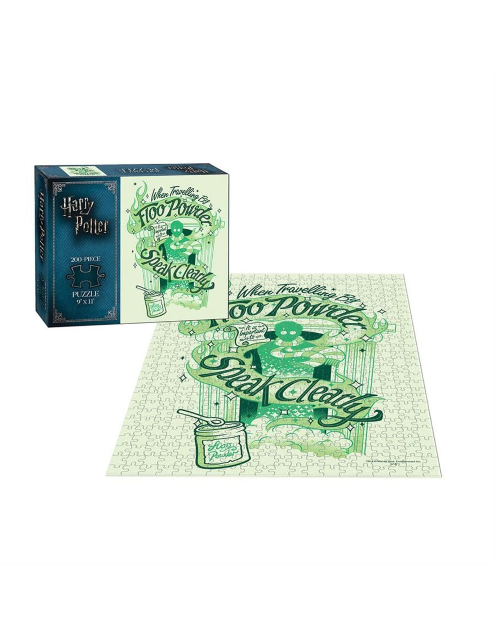 Usaopoly Puzzle: 200 Harry Potter Floo Powder