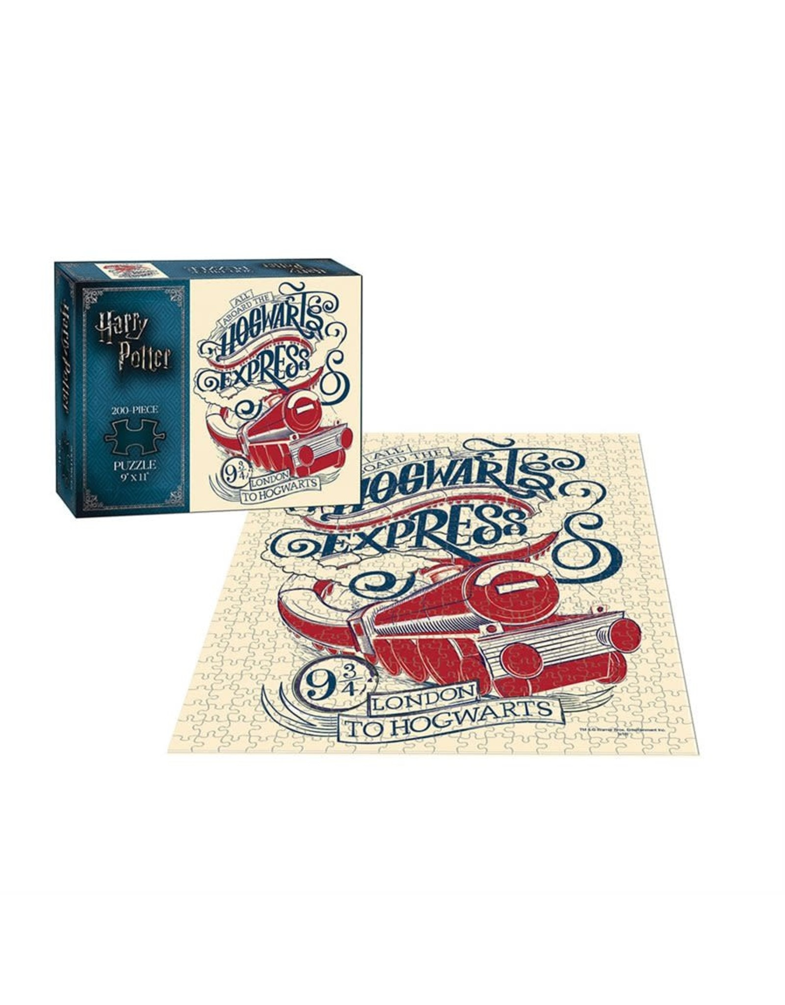 Usaopoly Puzzle: 200 Harry Potter Hogwarts Express