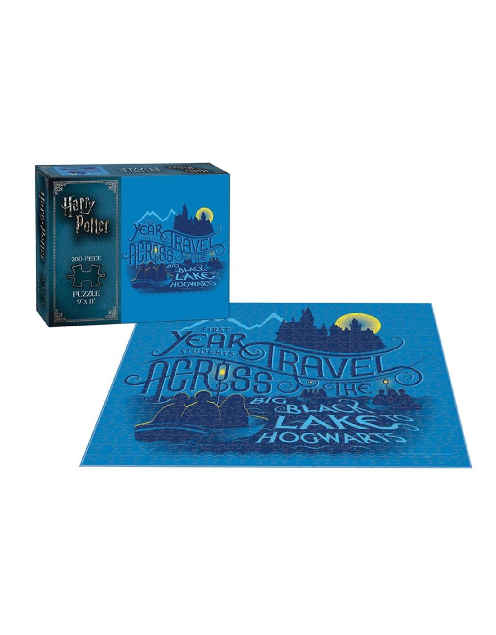Usaopoly Puzzle: 200 Harry Potter Journey to Hogwarts