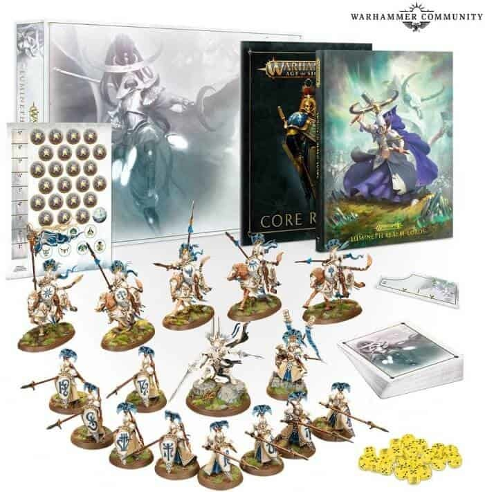 Age of Sigmar LUMINETH REALM-LORDS LAUNCH SET (EN)