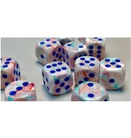 CHESSEX FESTIVE 12D6 POP-ART/BLUE 16MM
