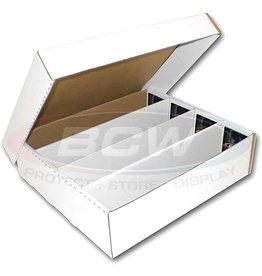 BCW 3200 ct Cardboard Box