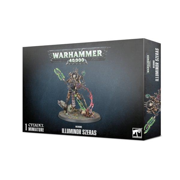 Warhammer 40k NECRONS ILLUMINOR SZERAS