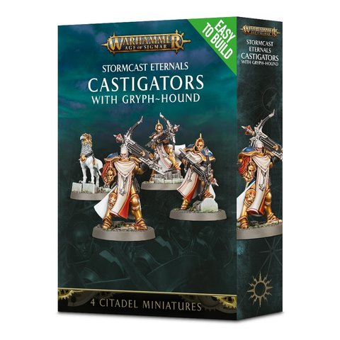 EASY TO BUILD STORMCAST CASTIGATORS WITH GRYPH-HOUND