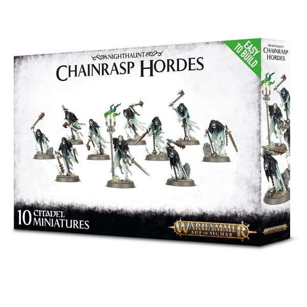 Age of Sigmar EASY TO BUILD NIGHTHAUNT CHAINRASP HORDES