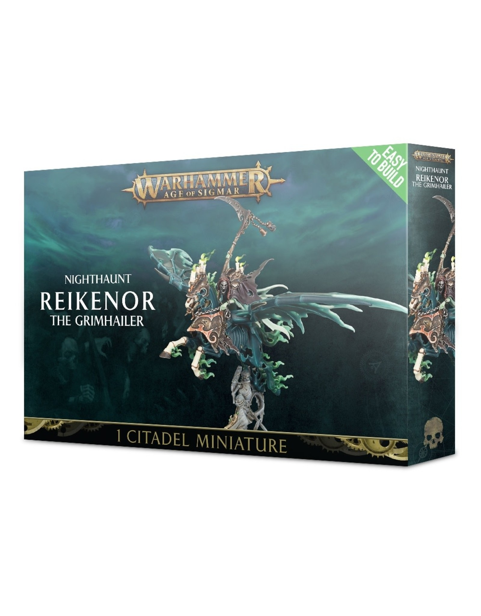 Age of Sigmar EASY TO BUILD NIGHTHAUNT REIKENOR THE GRIMHAILER