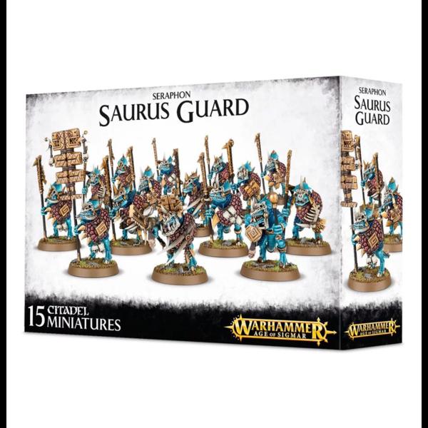 Age of Sigmar SERAPHON SAURUS GUARD