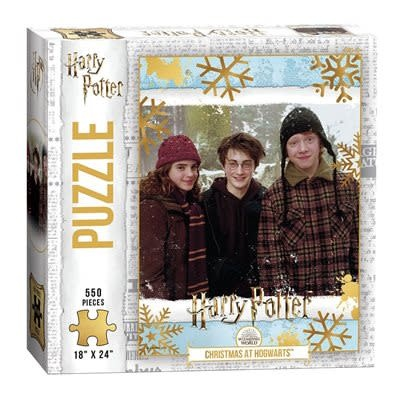 Usaopoly Puzzle: 550 Harry Potter - Christmas at Hogwarts