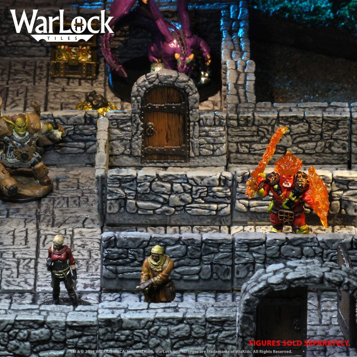 WIZKIDS WARLOCK DUNGEON TILES 1