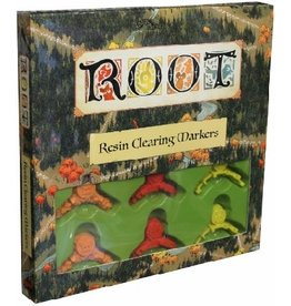 Leder Games ROOT: RESIN CLEARING MARKERS