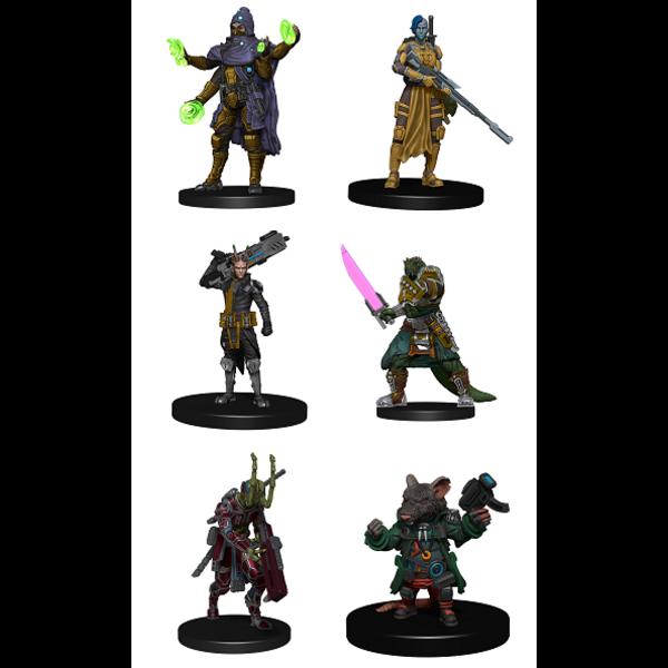 Ninja Division Publishing STARFINDER BATTLES STARTER PACK - HEROES