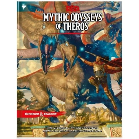 DND RPG MYTHIC ODYSSEYS OF THEROS