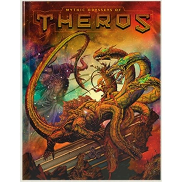 Wizards of the Coast DND RPG MYTHIC ODYSSEYS OF THEROS LIMITED EDITION