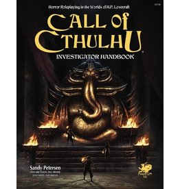 Chaosium Inc. CALL OF CTHULHU 7TH EDITION INVESTIGATOR HANDBOOK