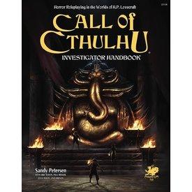 Chaosium Inc. CALL OF CTHULHU 7TH EDITION INVESTIGATOR HANDBOOK