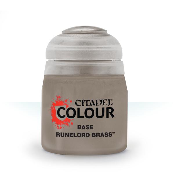 Citadel BASE: RUNELORD BRASS (12ML)