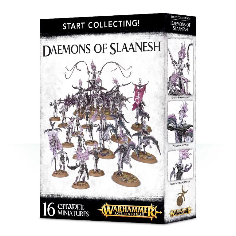 Age of Sigmar START COLLECTING! DAEMONS OF SLAANESH