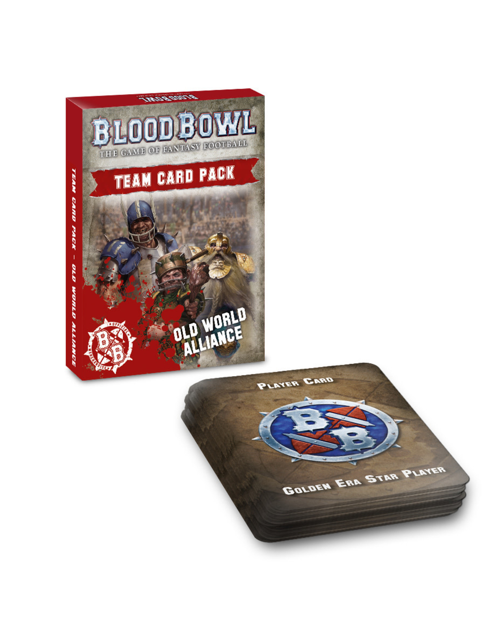 Blood Bowl BLOOD BOWL: OLD WORLD ALLIANCE TEAM CARD2 (English)