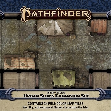 Paizo PF FLIP-TILES: URBAN SLUMS EXPANSION