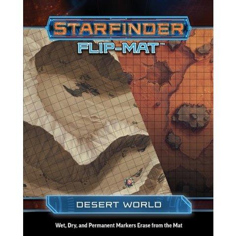 STARFINDER FLIP-MAT DESERT WORLD