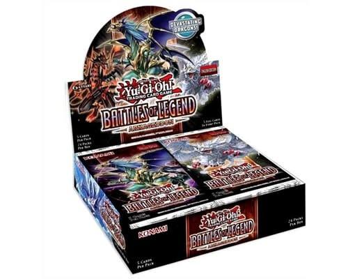 Konami YGO BATTLES OF LEGEND: ARMAGEDDON Booster Box