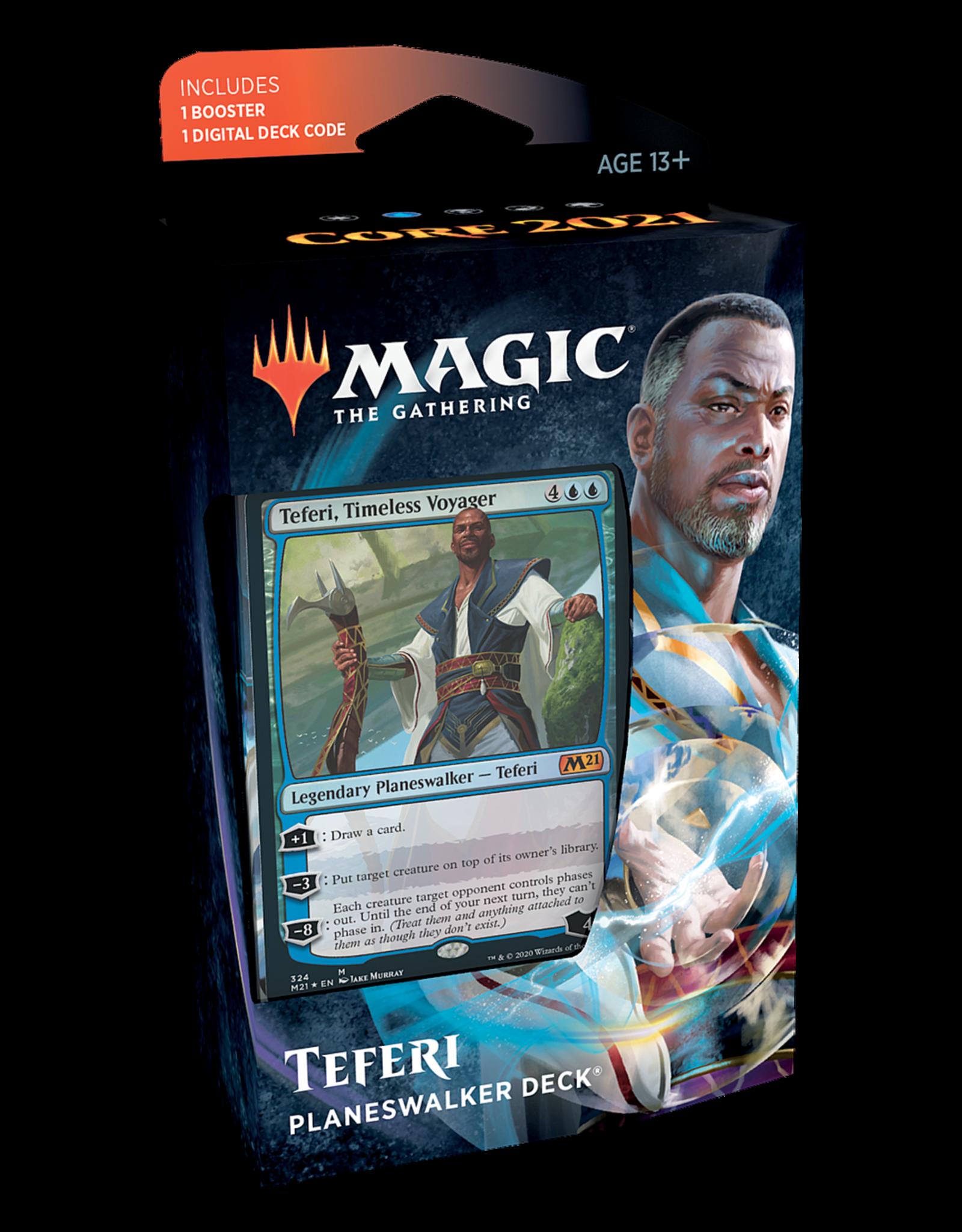 Wizards of the Coast MTG CORE 2021 PLANESWALKER DECK - Teferi