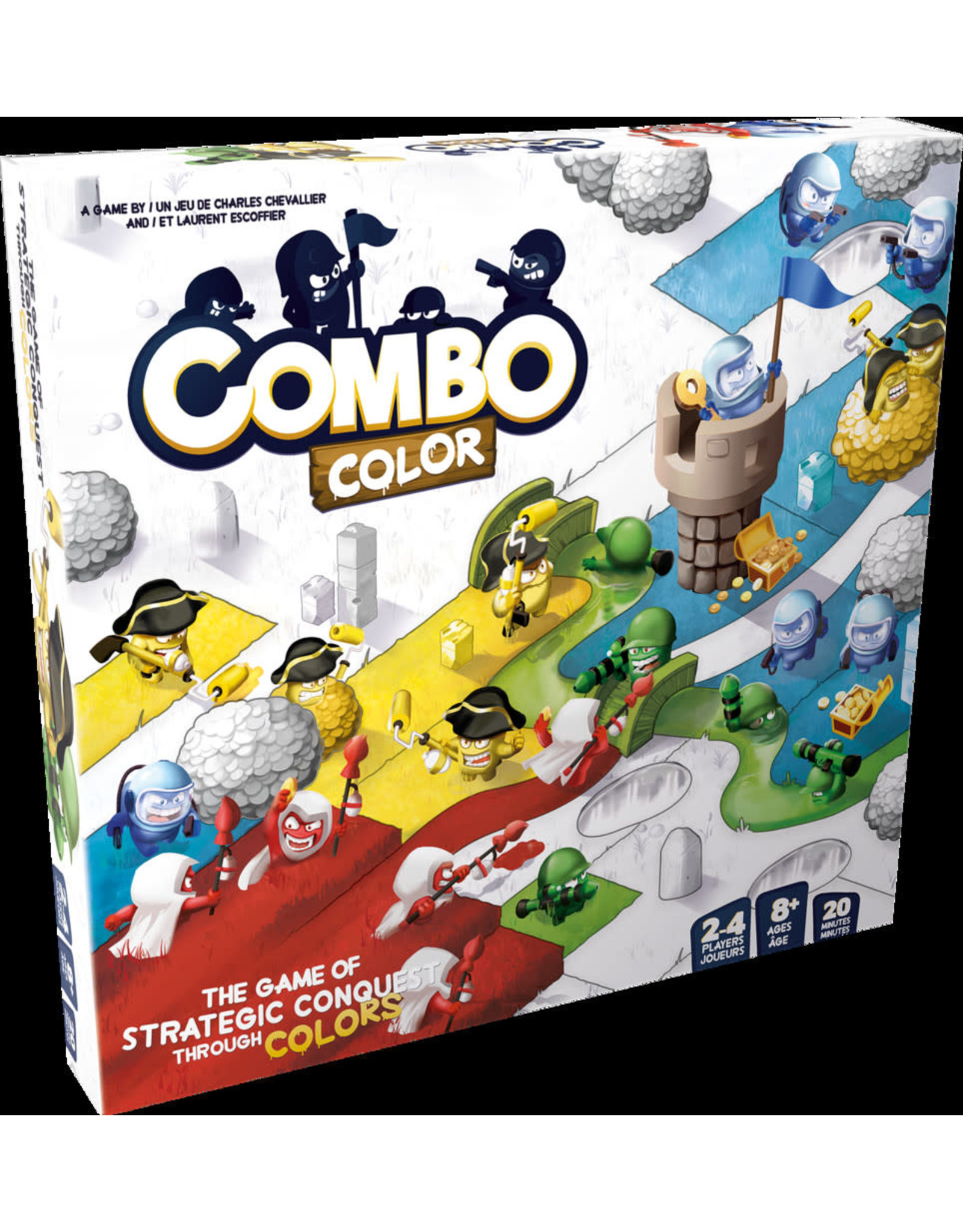 ASMODEE Combo Color (ML)