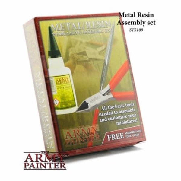 Army Painter Metal Resin Wargaming Assembly Set