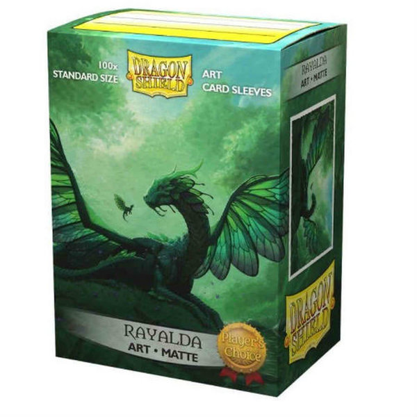 Arcane Tinmen DRAGON SHIELD SLEEVES RAYALDA ART MATTE 100CT
