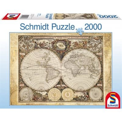 Schmidt Puzzle: 2000 Historical World Map